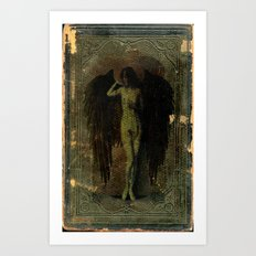 Angels Come Here No More Art Print