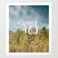 Art Print featuring Summer Of 69 V2 #society… by 83oranges.com