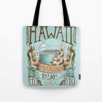 Hawaii Vintage Postage S… Tote Bag