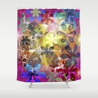 Andy's Garden Shower Curtain