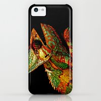 iPhone 5c Cases featuring KARMA CHAMELEON by Catspaws