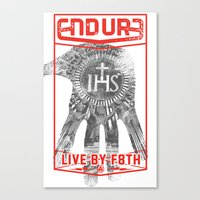 ENDURE IHS Canvas Print