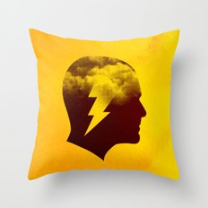 Brainstorm Throw Pillow