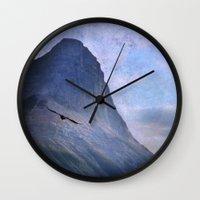 mountain Wall Clock