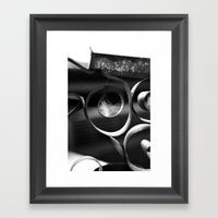 Something was there  Framed Art Print
