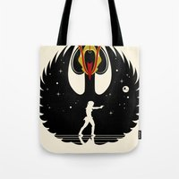 Queen Swan Tote Bag