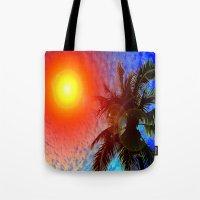 January in Miami Tote Bag