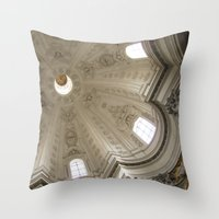 Borromini's Sant'Ivo Throw Pillow