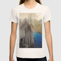 Imposscape_01 Womens Fitted Tee Natural SMALL