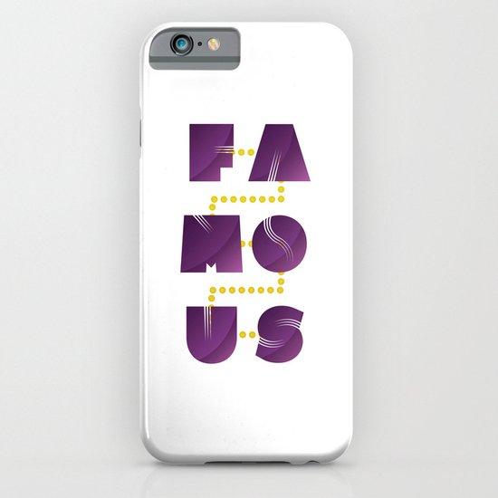Famous iPhone & iPod Case