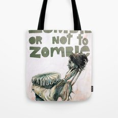 Zombie + Shakespeare Tote Bag