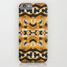 Montana Stripe - Gold Slim Case iPhone 6s