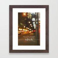 Perks Of Being A Wallflo… Framed Art Print