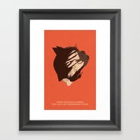 The Dark Knight Rises Framed Art Print