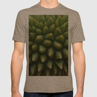 BABY DURIAN  Mens Fitted Tee Tri-Coffee SMALL