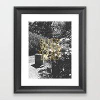 Sleep When You're Dead Framed Art Print