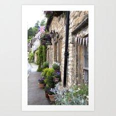 English Garden -  Tea Room Art Print
