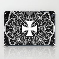 Cross pattée iPad Case