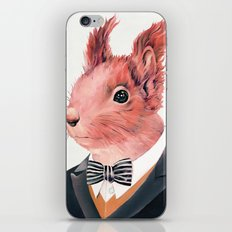 Red Squirrel iPhone & iPod Skin