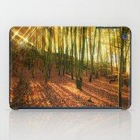 Glittering Forest iPad Case