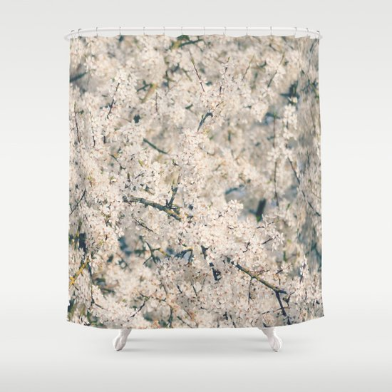 In Full Bloom Shower Curtain By RDelean