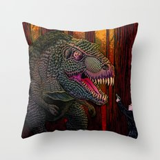 Out of Time Throw Pillow