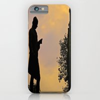 iPhone & iPod Case featuring Trinity College Sunset by Biff Rendar