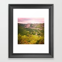 Southern France Framed Art Print
