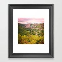 Southern France Framed Art Print