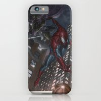 Spiderman vs Goblin iPhone 6 Slim Case