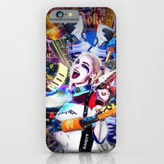 HarleyQuinnKandy Monster Nights - Skulls, Clats, Guns, Bad Girls and Bats iPhone 6 Slim Case