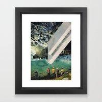 the age of adz... Framed Art Print