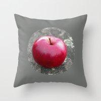 red apple VI Throw Pillow
