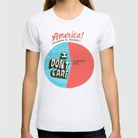 The 47% Of America Romne… Womens Fitted Tee Ash Grey SMALL