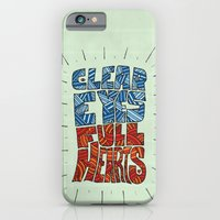 iPhone & iPod Case featuring Clear Eyes, Full Hearts... by David Stanfield