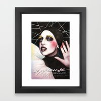 Give Me The Thing That I… Framed Art Print