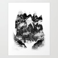 Valley Of The Mountain G… Art Print
