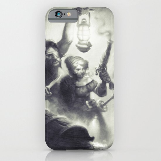 The Intruders iPhone & iPod Case