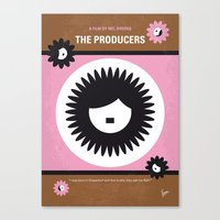No467 My The Producers minimal movie poster Canvas Print