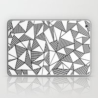 Abstraction Partial Grid Laptop & iPad Skin