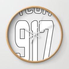 TCOM 917 AREA CODE JERSEY Wall Clock