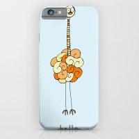 iPhone & iPod Case featuring Hello Ostrich by Duru Eksioglu