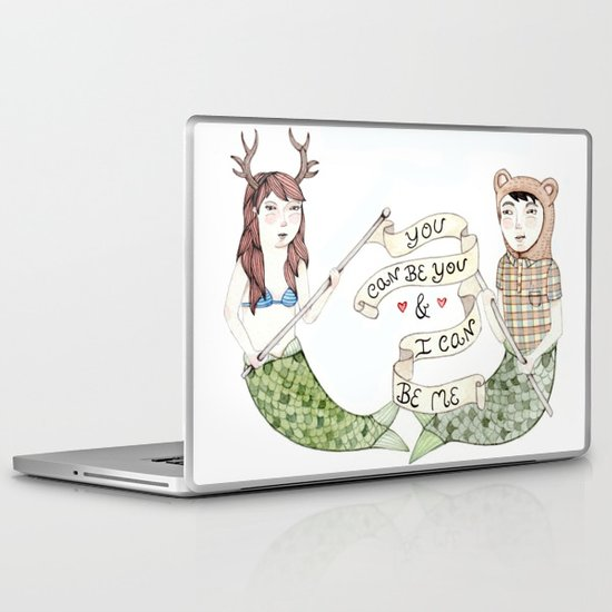 You Can Be You Laptop & iPad Skin