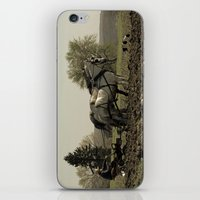 Tilling The Fields iPhone & iPod Skin