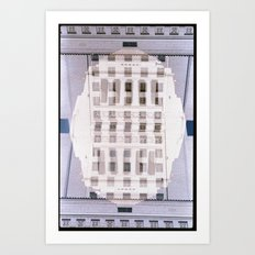 Landscapes c23 (35mm Double Exposure) Art Print