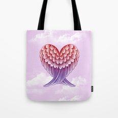 Heart Wings [Pink Version] Tote Bag
