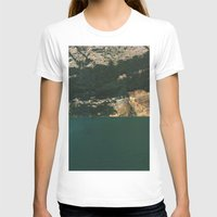 Submerged  Womens Fitted Tee White SMALL
