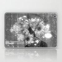 Madame Louisa - schwarz-weiß Laptop & iPad Skin