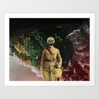 Colonially inherits Art Print