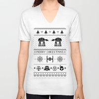 May the Christmas Spirit be with you. Unisex V-Neck